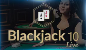 Blackjack 10 Live